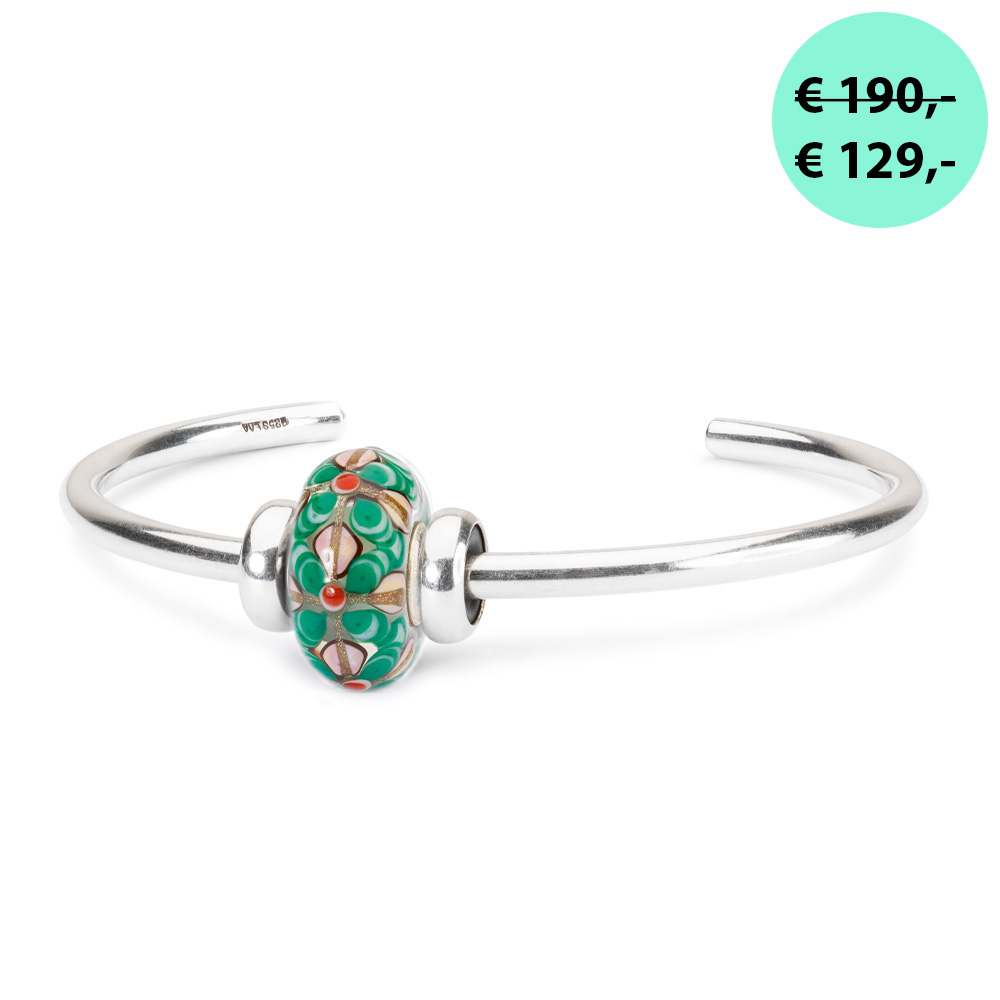 "Bangle ""Betoverde bloemen"""